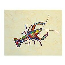 Crayfish Painting Print
