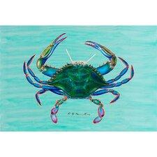 Coastal Blue Crab Graphic Art