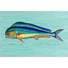 Coastal Dolphin Painting Print
