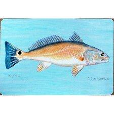 Coastal Red Drum Painting Print