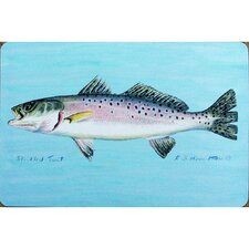 Coastal Trout Painting Print