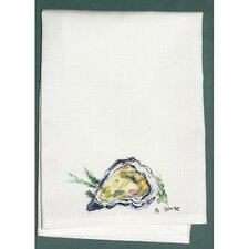 Coastal Oyster Hand Towel (Set of 2)