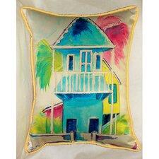 W. Palm Hut Indoor/Outdoor Pillow