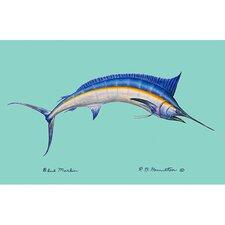Coastal Blue Marlin Graphic Art