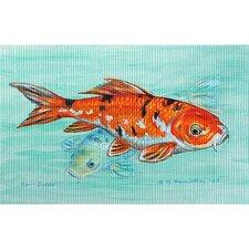 Garden Koi Painting Print