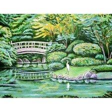 Garden Japanese Garden Painting Print