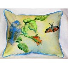 Garden Bird Indoor/Outdoor Lumbar Pillow