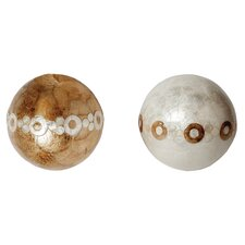 Ball with Circles (Set of 2)