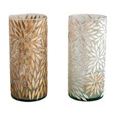 Starburst Cylinder Vase/Candleholder