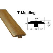 "0.56"" x 1.89"" x 72.83"" Bamboo T-Molding"