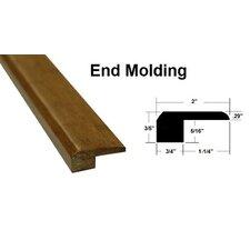 "0.75"" x 2"" x 72.75"" Bamboo Threshold in Reddish Brown"