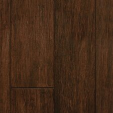 "4"" Engineered Bamboo Hardwood Flooring in Walnut"