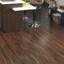 """5-1/6"""" Solid Bamboo Hardwood Flooring in Walnut"""
