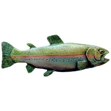 """Great Outdoors Rainbow Trout 3"""" Center Bar Pull"""