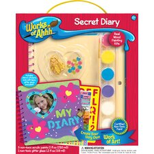 Works of Ahhh Secret Diary Wood Paint Kit