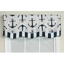 "Anchors Away Glory 50"" Curtain Valance"