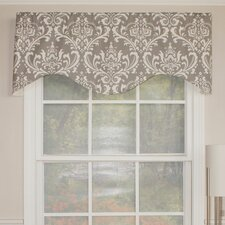 "Royal Damask Cornice 50"" Curtain Valance"