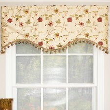 "Pardise Garden Cornice 50"" Curtain Valance"