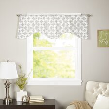 "Interlocking Cornice 50"" Curtain Valance"