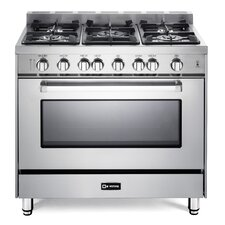 4 Cu. Ft. Gas Convection Range