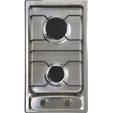 "11.4"" Gas Cooktop with 2 Burners"