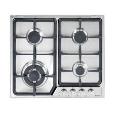"22.83"" Gas Cooktop with 4 Burners"