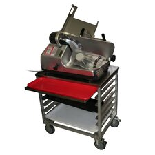 Slicer Mixer Scale Utility Cart