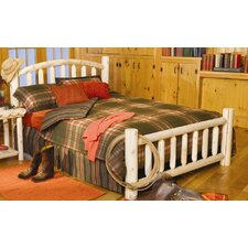 Log Style Beds Panel Bed