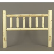 Rustic Cedar Log Bed (Headboard Only)