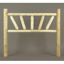 Rustic Cedar Sunburst Log Bed (Headboard Only)
