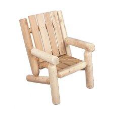 Junior Cedar Log Arm Chair