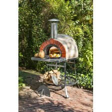 Rustic Wood Fired Oven - Faux Brick Front