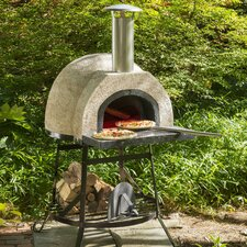 Rustic Wood Fired Oven - Plain Front