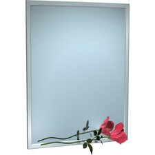 Steel Inter-Lok Angle Frame Mirror 36 x 60