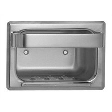 Heavy Duty Recessed Stainless Steel Soap Dish