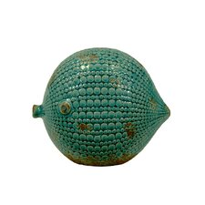 Ceramic Fish LG Gloss Teal