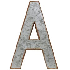"Alphabet Letter ""A"" Wall Decor"