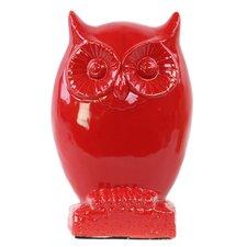 Owl on Base Figurine