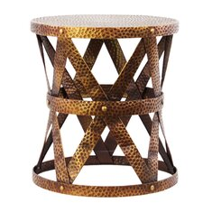 Small Round End Table