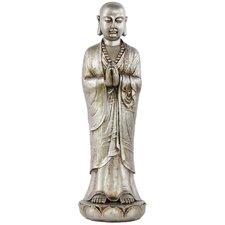 Resin Standing Buddha Figurine