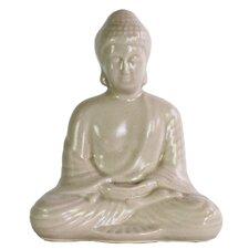 Porcelain Meditating Buddha Figurine
