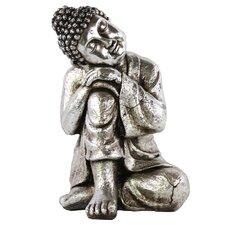 Resin Sitting Buddha Figurine