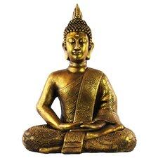 Resin Meditating Buddha Figurine