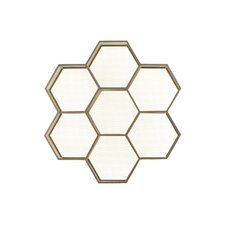 Metal Polyhexagonal Shelf