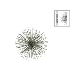 Metal Sea Urchin Ornamental Wall Décor