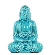 Ceramic Meditating Buddha Figurine