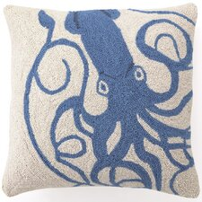 Squid Wool Throw Pillow