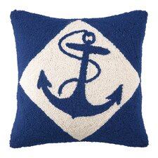 Nautical Wool Throw Pillow
