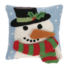Snowman 3D Hook Throw Pillow