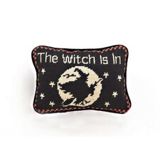 Halloween Needlepoint Lumbar Pillow